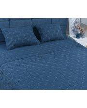 SoundSleep La Calin Stonewash Двуспальный евро, наволочка в комплекте 50x70см (2шт), темно-синий (92521483)