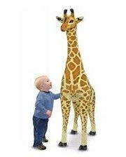 Melissa & Doug Огромный плюшевый жираф (1,4 м) (MD2106)
