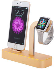 COTEetCI Base5 Dock Stand Gold (CS2095-CEG) for Apple iPhone and Apple Watch
