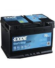 Exide 6СТ-70 АзЕ START-STOP AGM EK700