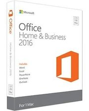 Microsoft Office Mac Home Business 1PK 2016 Ru Medialess (W6F-00500)