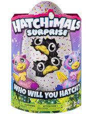 Hatchimals Spin Master Интерактивная игрушка Двойной сюрприз Жирафики (SM19110/6037097)