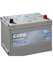 Exide 6СТ-75 АзЕ PREMIUM EA754