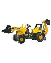 Rolly toys rollyJunior JCB желто-черный (812004)