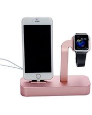 COTEetCI Base5 Dock Stand Rose Gold (CS2095-MRG) for Apple iPhone and Apple Watch