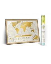 1DEA.me Скретч-карта мира Travel Map Geography World (Eng)