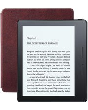 Amazon Kindle Oasis with Leather Charging Cover Red