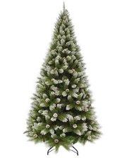 Triumph Tree Edelman Pittsburgh (1.85м) зеленая с эффектом покрытия инеем и шишками