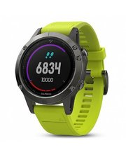 GARMIN Fenix 5 Sapphire Black with Yellow Silicon (010-01688-67)