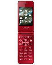 Sigma mobile X-Style 28 Flip Red (Код товара:4256)