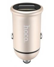 Hoco Z30 (2USB, 3.1A) Gold (Код товара:10217)