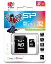 Silicon Power microSD 32GB Class 10 + адаптер (Код товара:965)