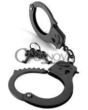 Pipedream Наручники из металла Designer Cuffs чёрные