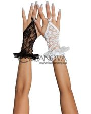 Softline Перчатки Gloves 7707 короткие белые