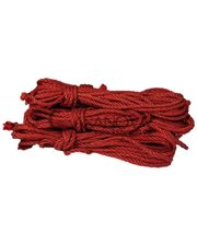 Shibari Studio Верёвка для шибари красная 8 м