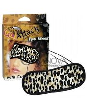 Cottelli Collection Маска Cat Attack Eye Mask леопардовая