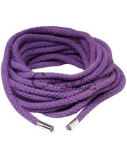 Pipedream Шнур для бондажа Japanese Silk Rope фиолетовый