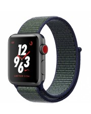 Apple WATCH NIKE + SERIES 3 (GPS+4G) 38mm SPACE GRAY ALUMINUM CASE WITH MIDNIGHT FOG NIKE (MQLA2)