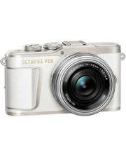 Olympus E-PL9 14-42 mm Pancake Zoom Kit white/silver (V205092WE000)