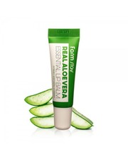 Уход для губ FARMSTAY Real Aloe Vera Essential Lip Balm фото