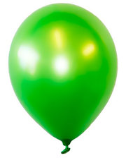 Шарик воздушный 1 Вересня стандарт 28см Зеленый набор 100шт 701611