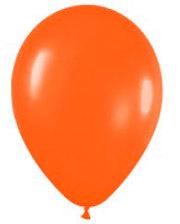 Шарик воздушный 1 Вересня стандарт 28см Оранжевый набор 100шт 701612