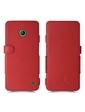 Чехол книжка Stenk Prime для Nokia Lumia 630 Красный