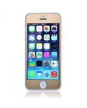 Защитное cтекло Remax Tempered Glass Colorful Golden для Apple iPhone 5S /5 /5C 0.2mm 9H
