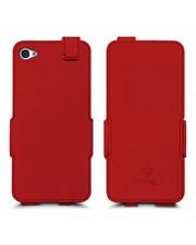 Чехол флип Stenk Prime для Apple iPhone 4/ 4S Красный