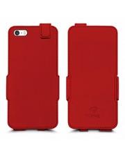 Чехол флип Stenk Prime для Apple iPhone 5/ 5S Красный