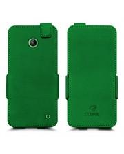 Чехол флип Stenk Prime для Nokia Lumia 630 Зелёный