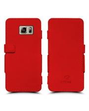 Чехол книжка Stenk Prime для Samsung Galaxy Note 5 Красный