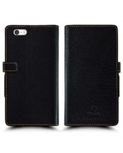 Чехол книжка Stenk Wallet для Apple iPhone 5S Чёрный