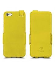 Чехол флип Stenk Prime для Apple iPhone 5/ 5S Желтый