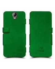 Чехол книжка Stenk Prime для HTC One E9 Plus Зелёный