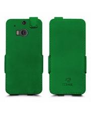 Чехол флип Stenk Prime для HTC One M8 Зелёный