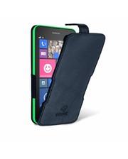 Чехол флип Stenk Prime для Nokia Lumia 630 Чёрный Гладкий