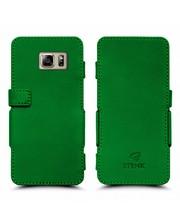 Чехол книжка Stenk Prime для Samsung Galaxy Note 5 Зелёный