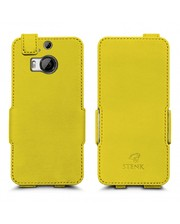 Чехол флип Stenk Prime для HTC One M9 Plus Желтый