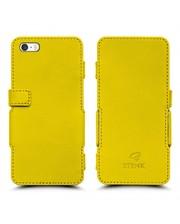 Чехол книжка Stenk Prime для Apple iPhone 5/ 5S Желтый