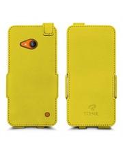Чехол флип Stenk Prime для Nokia Lumia 730 Желтый