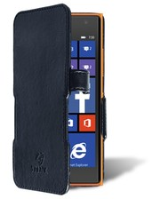 Чехол книжка Stenk Prime для Nokia Lumia 730 Чёрный
