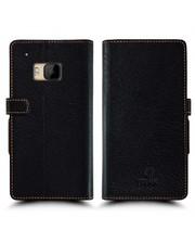 Чехол книжка Stenk Wallet для HTC One S9 Чёрный