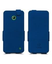 Чехол флип Stenk Prime для Nokia Lumia 630 Синий