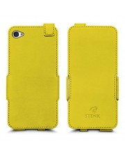 Чехол флип Stenk Prime для Apple iPhone 4/ 4S Желтый