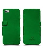 Чехол книжка Stenk Prime для Apple iPhone 5/ 5S Зелёный