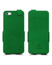 Чехол флип Stenk Prime для Apple iPhone 5/ 5S Зелёный