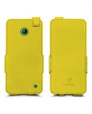 Чехол флип Stenk Prime для Nokia Lumia 630 Желтый