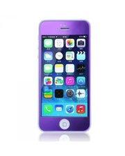 Защитное cтекло Remax Tempered Glass Colorful Purple для Apple iPhone 5S /5 /5C 0.2mm 9H