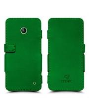 Чехол книжка Stenk Prime для Nokia Lumia 630 Зелёный